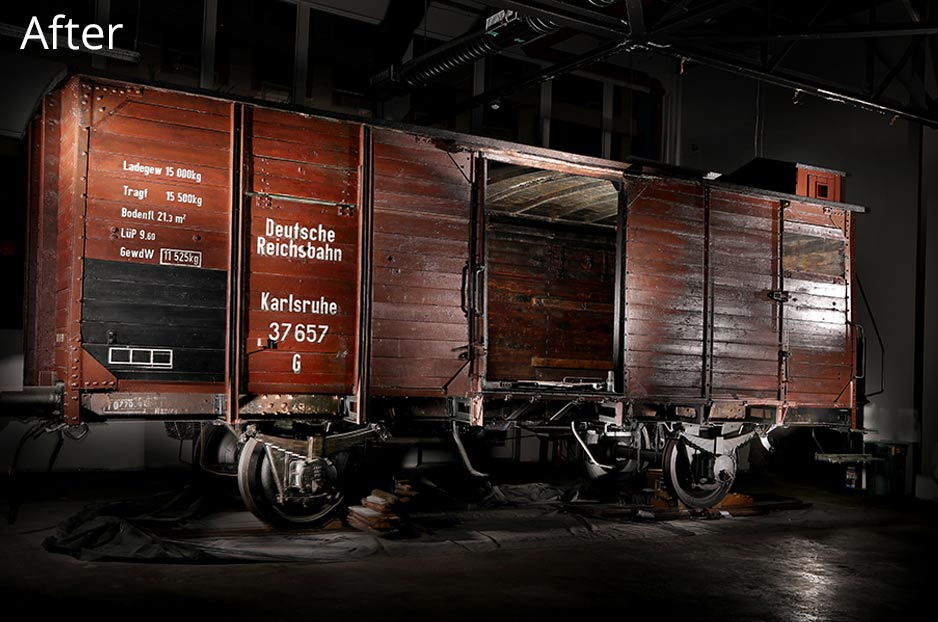Rail Car After Restoration