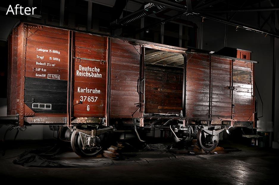 Rail Car After Restoration