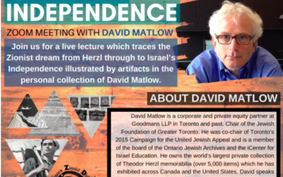 Artifacts of Independence: Zoom Meeting with David Matlow