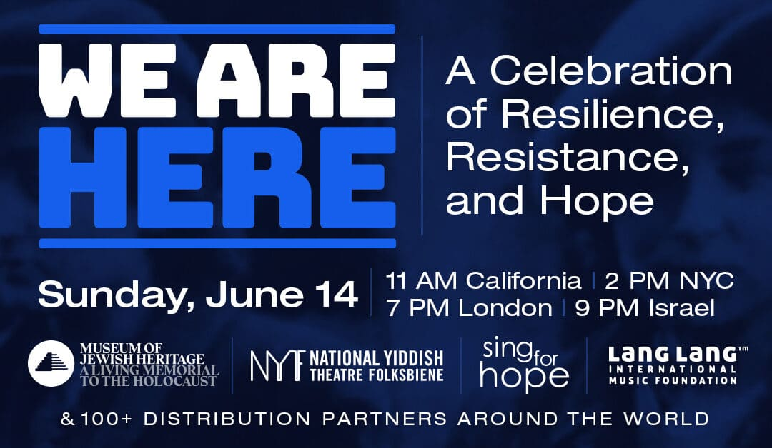 We Are Here: A Celebration of Resilience, Resistance, and Hope