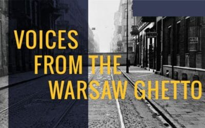 Voices from the Warsaw Ghetto Part 1: Project Witness
