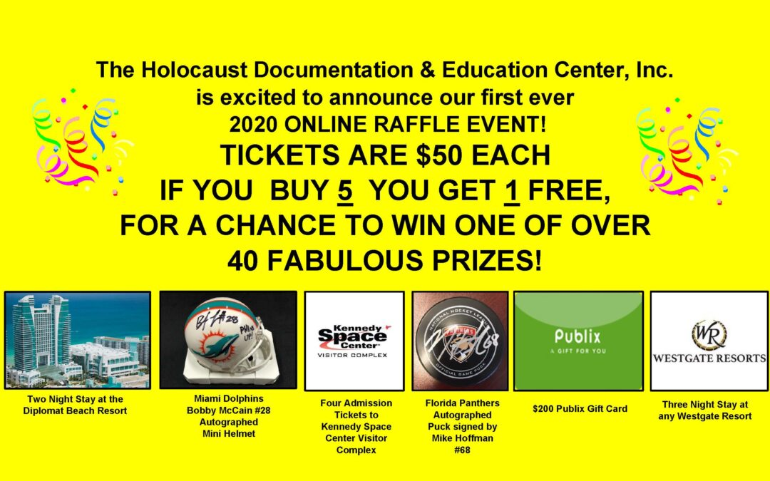 HDEC First-Ever Online Raffle Event Starts Now!