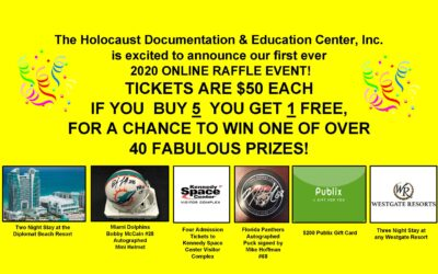 HDEC First Ever Online Raffle Event!