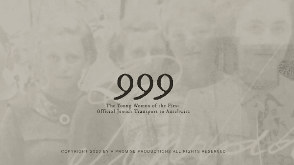 The Vilna Shul: 999: The Unforgettable True Story of the First Women in Auschwitz