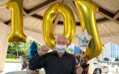 Holocaust Survivor Julius Eisenstein Turns 101!