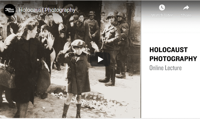USHMM: Online Lectures (Photography, Diaries & Eugenics)