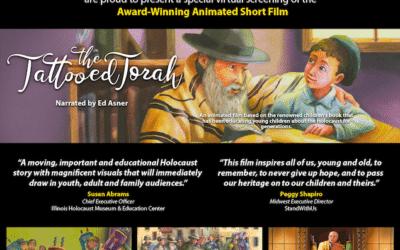 "Screening and Live Webinar Q&A: ""The Tattooed Torah"""