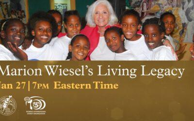Marion Wiesel's Living Legacy