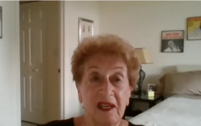 Holocaust Survivor Speaks to Jewish Student Union on Holocaust Remembrance Day