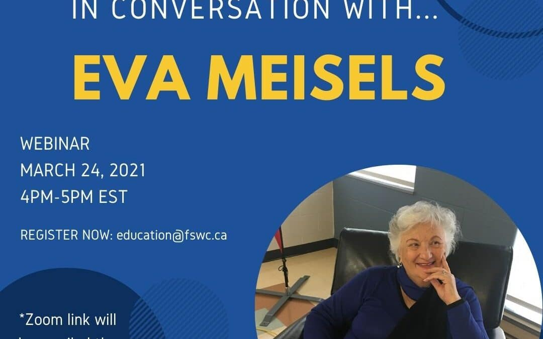 Friends of Simon Wiesenthal Center: In Conversation with Eva Meisels