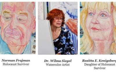 Temple Beth El of Boca Raton: Commemorating Yom HaShoah Through Art and the Words of Survivors