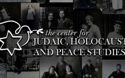 Appalachian State University's Center for Judaic, Holocaust and Peace Studies – Virtual Summer Symposium
